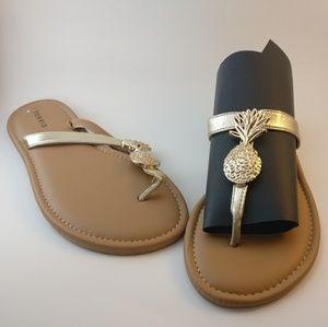 Torrid pineapple sandal
